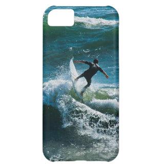 caso del iPhone - persona que practica surf Carcasa Para iPhone 5C