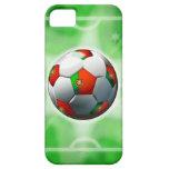 Caso del iPhone portugués 5 del fútbol/del fútbol iPhone 5 Funda