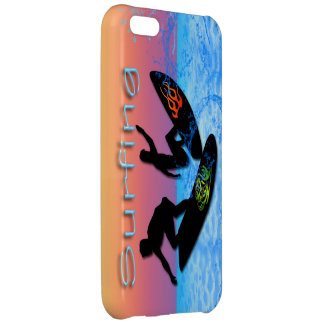 Caso del iPhone que practica surf 5C Barely There