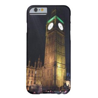 caso del iphone que representa Big Ben en Londres Funda De iPhone 6 Barely There