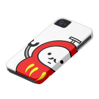 caso del iPhone - robot de Daruma iPhone 4 Case-Mate Cárcasa