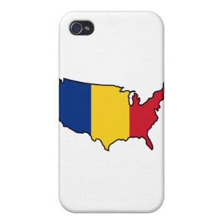 caso del iPhone: Rumano en los E.E.U.U. iPhone 4 Cárcasa