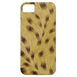 Caso del iPhone SE/5/5S Barely There del leopardo iPhone 5 Carcasas