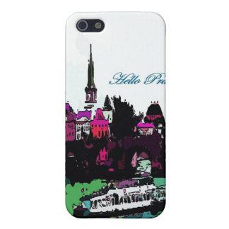 Caso del iPohne del castillo de Praga iPhone 5 Funda