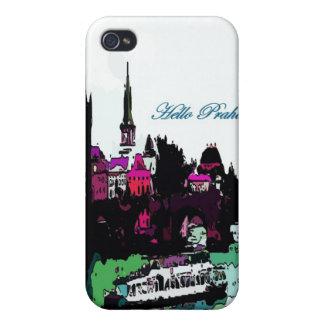 Caso del iPohne del castillo de Praga iPhone 4 Protector