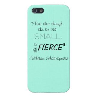 Caso del iPone de la cita de Shakespeare iPhone 5 Funda