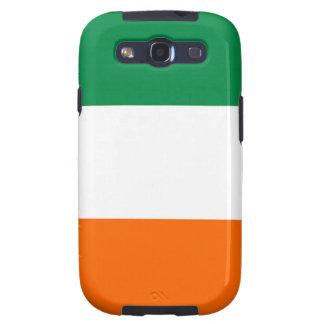 caso del irlandés de la bandera de país de Irlanda Galaxy SIII Cárcasa