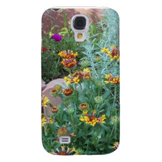 Caso del jardín iPhone3 de la margarita Funda Samsung S4