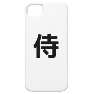Caso del kanji iphone5 del samurai iPhone 5 cárcasas