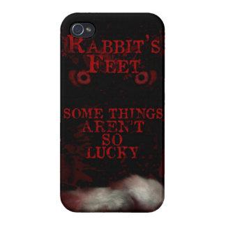 caso del lema de los pies de conejo del iPhone 4 iPhone 4 Cobertura