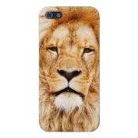 Caso del león iPhone 5 carcasa