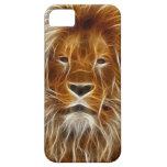 Caso del león iPhone 5 Case-Mate carcasa