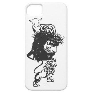 Caso del león y del cordero iPhone 5 Case-Mate carcasa