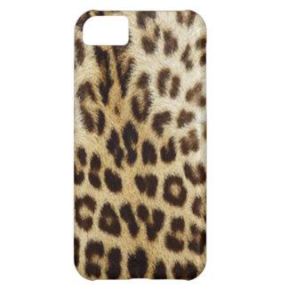 caso del leopardo del iPhone 5