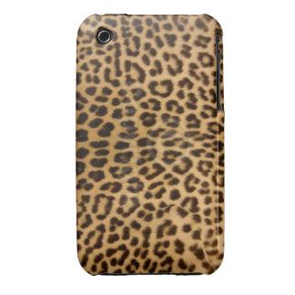 Caso del leopardo iPhone3G/3GS Case-Mate iPhone 3 Funda