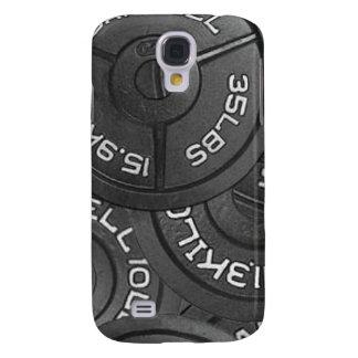 caso del levantamiento de pesas del iPhone 3G/3GS Funda Para Galaxy S4