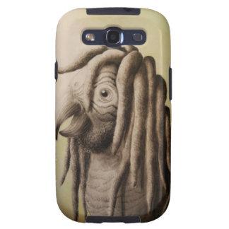 Caso del loro de Rasta Samsung Galaxy S3 Carcasas