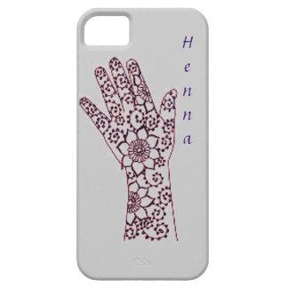 Caso del modelo de la mano de la alheña iPhone 5 carcasa