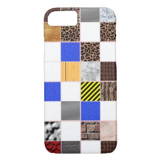 caso del modelo de la textura del diseño interior funda iPhone 7