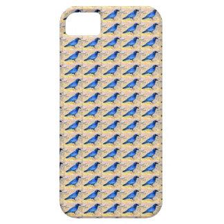 caso del modelo del cuervo iPhone 5 cobertura