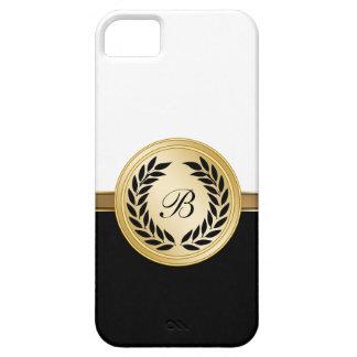 caso del monograma del iPhone 5 iPhone 5 Case-Mate Funda