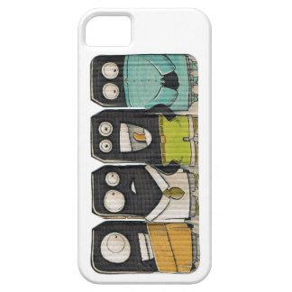 Caso del monstruo de la cartulina iPhone 5 Case-Mate cobertura