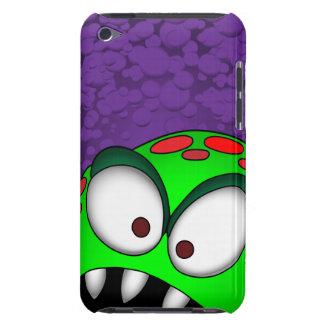 ¡caso del monstruo del verde del TACTO de iPod! iPod Touch Carcasas