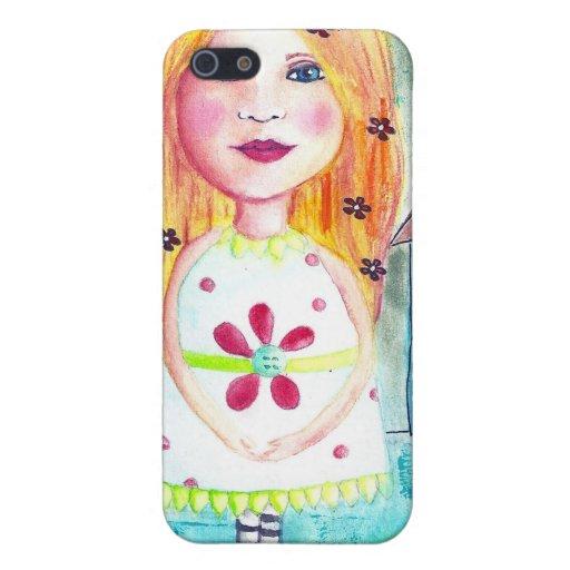 Caso del niño de flor de Iphone 4/4s iPhone 5 Cobertura
