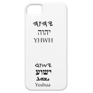Caso del nombre de YHWH (Yahweh) y de Yeshua Funda Para iPhone SE/5/5s