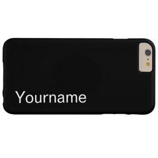 Caso del nombre primario funda barely there iPhone 6 plus