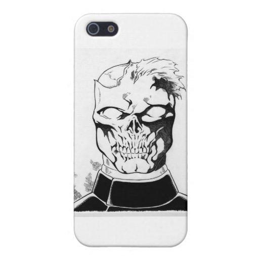 Caso del operador del zombi iPhone 5 cárcasas