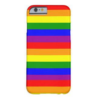 caso del orgullo gay del caso del iPhone 6 Funda De iPhone 6 Barely There