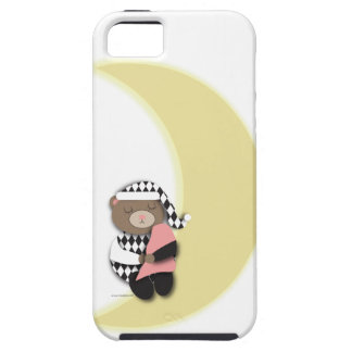 Caso del oso el dormir iPhone 5 funda