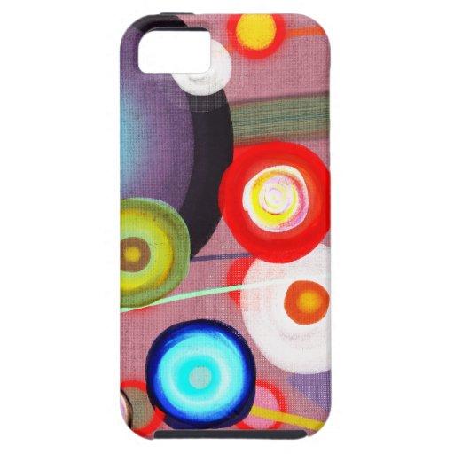 Caso del paisaje - cambie el color de fondo:) iPhone 5 Case-Mate coberturas