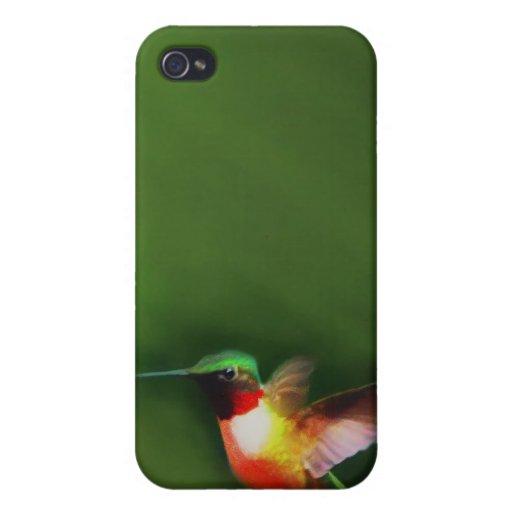 caso del pájaro IPAD del tarareo iPhone 4 Fundas