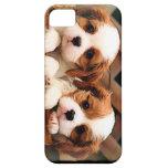 Caso del perrito iPhone 5 Case-Mate cobertura