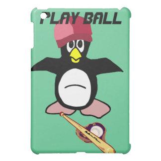 Caso del pingüino del béisbol de la bola del juego
