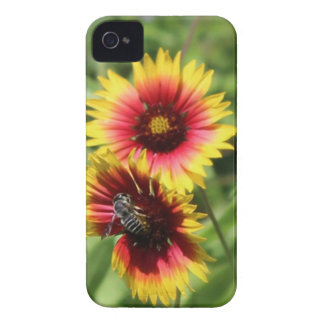caso del protector del iPhone 4 abeja ocupada de Case-Mate iPhone 4 Carcasas