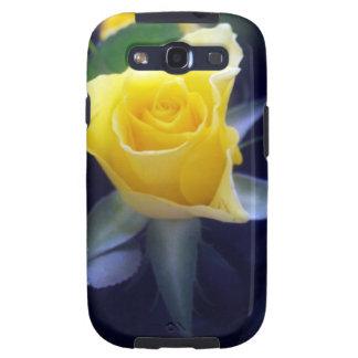 Caso del rosa amarillo samsung galaxy s3 protector