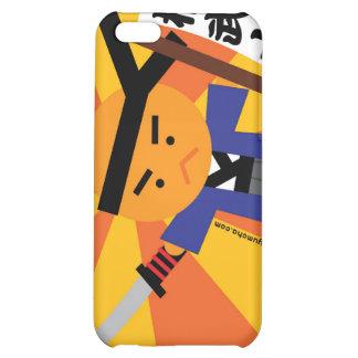 Caso del samurai iPhone4 de la mandarina
