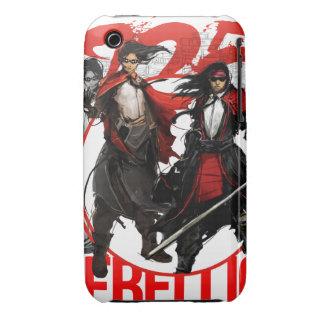 Caso del samurai X Mage IPhone del negocio iPhone 3 Carcasas