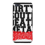 Caso del sur sucio de Iphone del metal de la muert iPhone 5 Protectores