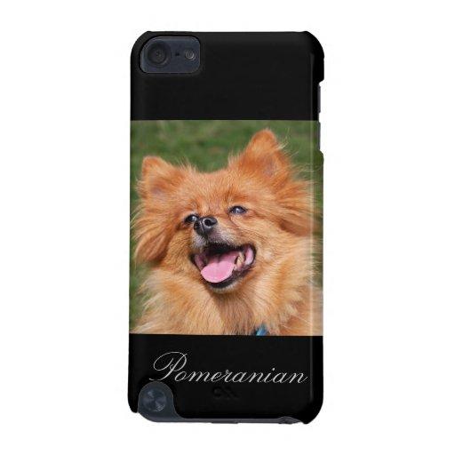 Caso del tacto 4G de iPod del perro de Pomeranian,
