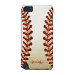 Caso del tacto 5 de iPod de la bola del béisbol