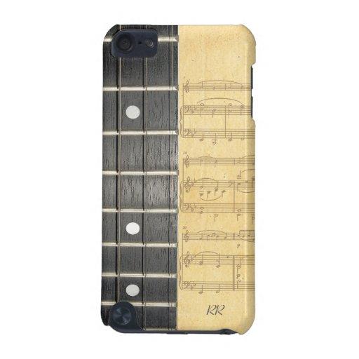 Caso del tacto 5G de iPod de la partitura de Fretb Funda Para iPod Touch 5G