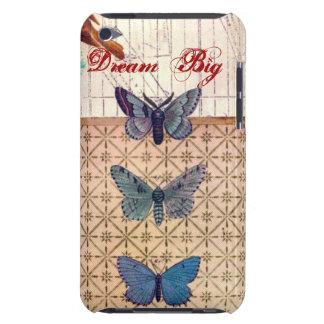 Caso del tacto de E iPod con las mariposas hermosa Case-Mate iPod Touch Fundas