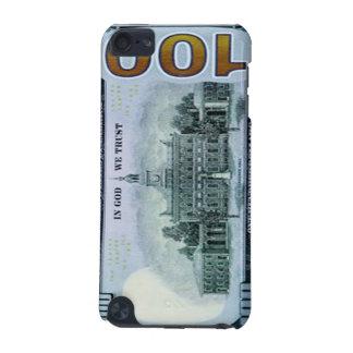 Caso del tacto de iPod de 100 billetes de dólar