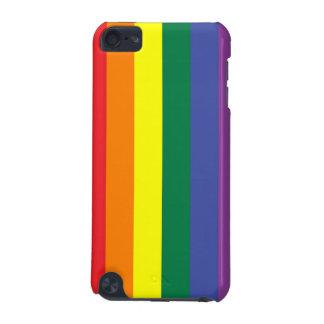 Caso del tacto de iPod de la bandera del orgullo g Funda Para iPod Touch 5G
