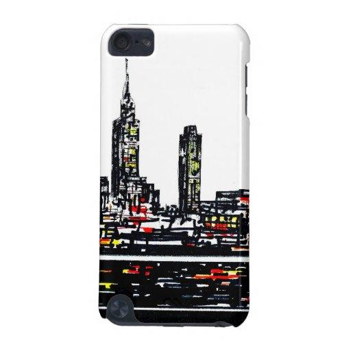 Caso del tacto de iPod de la escena de Nueva York