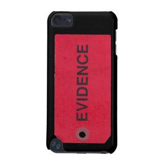 Caso del tacto de iPod de la etiqueta de las prueb